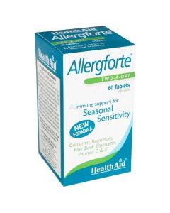 Health Aid Allergforte Φόρμουλα Βιταμινών & Μετάλλων για Εποχιακές Αλλεργίες 60 Φυτικές Ταμπλέτες