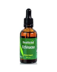 Health Aid Echinacea Συμπλήρωμα Διατροφής Για Ισχυρή Άμυνα Του Ανοσοποιητικού Με Εκχύλισμα Εχινάκιας (Angustifolia) 50ml