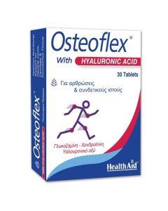 Health Aid Osteoflex Με Υαλουρονικό Οξύ Για Οστεοαρθρίτιδα Και Υγιή Συνδετικό Ιστό 30 Ταμπλέτες