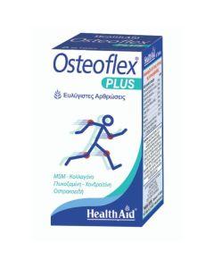 Health Aid Osteoflex Plus Για Ευλύγιστες Αρθρώσεις Με Γλυκοσαμίνη, Χονδροϊτίνη, MSM, Κολλαγόνο 60 Ταμπλέτες