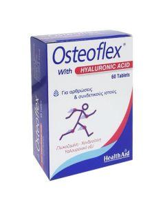 Health Aid Osteoflex Hyaluronic Συμπλήρωμα Διατροφής Με Υαλουρονικό Οξύ Για Οστεοαρθρίτιδα & Υγιή Συνδετικό Ιστό  60tabs