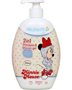 Helenvita Kids Minnie 2 Σε 1 Παιδικό Σαμπουάν & Αφρόλουτρο 500ml