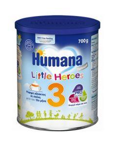 Humana Γάλα Σε Σκόνη Optimum 3 Little Heroes 12 Μηνών+  700gr