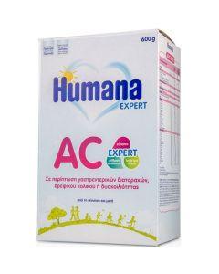 Humana AC Expert Γάλα Για Κολικούς & Δυσκοιλιότητα - Από Τη Γέννηση & Μετά 600gr