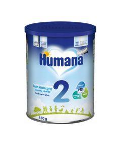 Humana Optimum 2 Γαλα 2ης Βρεφικής Ηλικίας Μετά Τον 6ο Μήνα 350Gr