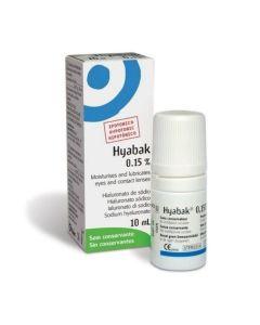 Hyabak 0.15% Οφθαλμικές Σταγόνες Με Υαλουρονικό Νάτριο 10ml