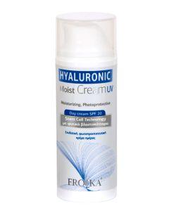 Froika Hyaluronic Moist Cream Uv Ενυδατική Φωτοπροστατευτική Κρέμα Ημέρας Spf 20 50ml