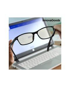 InnovaGoods Γυαλιά Προστασίας Υπολογιστών Anti Blue Ray Σε Μαύρο Χρώμα 1τμχ