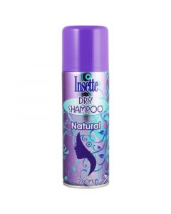 Insette Dry Shampoo Natural Ξηρό Σαμπουάν 200ml