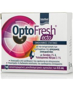 Intermed OptoFresh Ecto Οφθαλμικές Σταγόνες 10 x 0.5ml
