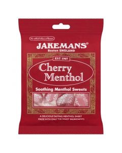 Jakemans Cherry Menthol Καραμέλες για το Λαιμό με Κεράσι 100gr