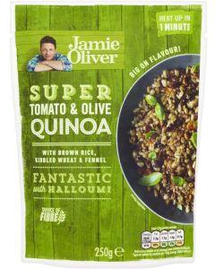 Jamie Oliver Super Tomato & Olive Κινόα & Καστανό Ρύζι 250g