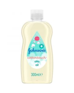 Johnson's Baby Cotton Touch Oil Ενυδατικό Βρεφικό Λάδι 300ml