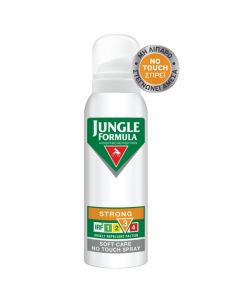 Omega Pharma Jungle Formula Strong Soft Care No Touch Spray Με Irf 3 Εντομοαπωθητικό 125ml
