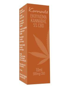 Kannavis Ολικο Εκχύλισμα Κάνναβης 5% Cbd 10 ml