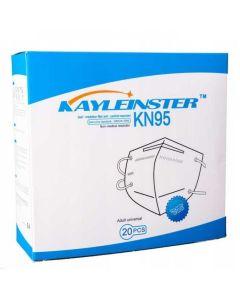 Kayleinster KN95 Μάσκες Προστασίας GB2626-2006 5 Στρωμάτων 20τμχ