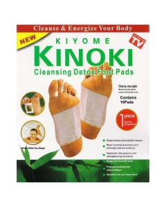 Kiyome Kinoki Επιθέματα Πελμάτων για Αποτοξίνωση του Οργανισμού 10τμχ