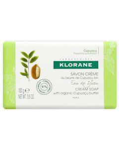 Klorane Cream Soap Κρεμώδες Σαπούνι Με Νερό Yuzu & Βούτυρο Cupuacu Bio 100Gr