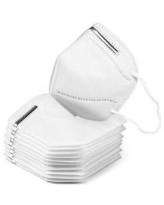 Μάσκες Προστασίας FFP2 NR KN95 Χωρίς Βαλβίδα Εκπνοής Με Μεταλλικό Έλασμα 10τμχ