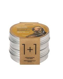 Korres Beeswax With Coconut Oil For Sensitive Skin Κεραλοιφή Με Έλαιο Καρύδας Για Ευαίσθητα Δέρματα (1+1)