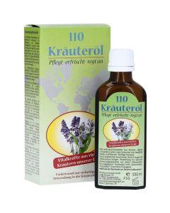 Krauterol Αναζωογονητικό Λάδι Σώματος 110 Βοτάνων 100 ml