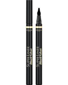 L'Oreal Super Liner Black Velvet Eyeliner Σε Μαύρο Χρώμα 1 Τμχ