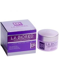 La Biored Luxious Regenerative Cream Light Texture SPF30 Κρέμα Προσώπου Ανανέωσης & Λάμψης Ελαφριάς Υφής 50ml