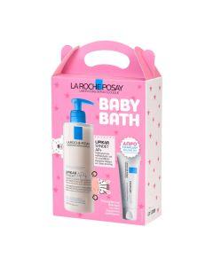 La Roche Posay Baby Bath Lipikar Syndet AP+ 400ml + Δώρο Cicaplast Baume B5 Με Αναπλαστική & Καταπραϋντική Δράση 15ml