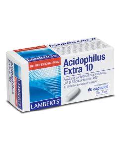 Lamberts Acidophilus Extra 10 Milk Free 60Caps