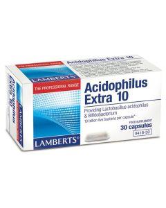 Lamberts Acidophilus Extra 10 (Milk Free) Υγεία Γαστρεντερικού 30caps