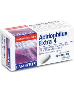 Lamberts Acidophilus Extra 4 Προβιοτικό Σκεύασμα 30caps