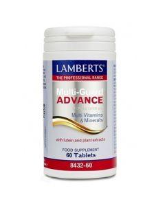 Lamberts Multi-Guard Advance Πολυβιταμίνες Αντιοξειδωτικά 8432 60tabs
