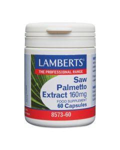 Lamberts Saw Palmetto Extract Καλή Υγεία Του Προστάτη & Των Γυναικείων Ορμονών 160mg 60caps