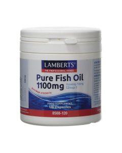 Lamberts Συμπλήρωμα Διατροφής Pure Fish Oil 1100mg 8508-120 120Caps