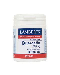 Lamberts Συμπλήρωμα Διατροφής Quercetin 500Mg High Potency 8523 Αντιοξειδωτικό 60Tabs