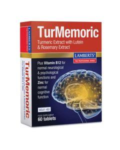 Lamberts Turmemoric Συμπλήρωμα Διατροφής Με Κουρκουμά, Καλή Λειτουργία Εγκεφάλου 8541 60Tabs