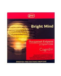 Lanes ΠΡΟΣΦΟΡΑ ΓΝΩΡΙΜΙΑΣ -50% Bright Mind Συμπλήρωμα Διατροφής για την Ενίσχυση της Πνευματικής Ενέργειας 10 x 10ml