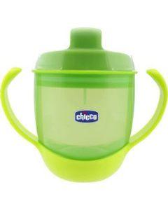 Chicco Meal Cup Μαλακο Κυπελλο Πρασινο με Λαβη 12Μ+ 180 ml Cod.00006824500000