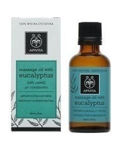 Apivita Massage Oil Eucaliptus Λάδι Ευκάλυπτος 50ml