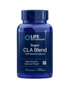 Life Extension Super CLA Blend with Sesame Lignans 1000mg Φόρμουλα για Φυσική Απώλεια Βάρους & Μυϊκή Τόνωση 120 Μαλακές Κάψουλες