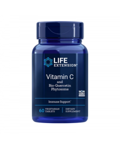 Life Extension Vitamin C & Bio-Quercetin Phytosome 60 Tabs