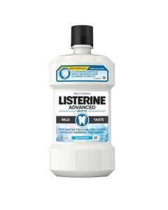 Listerine Solution Advanced White Στοματικό Διάλυμα για πιο Λευκά Δόντια 500ml