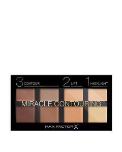 Max Factor Miracle Contouring Palette Παλέτα Για Περίγραμμα Προσώπου 30g