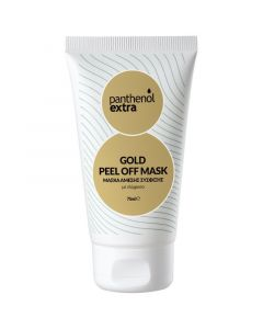 Medisei Panthenol Extra Gold Peel Off Μάσκα Άμεσης Σύσφιξης 75ml