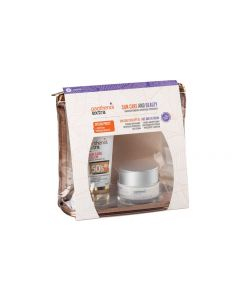 Medisei – Promo Panthenol Extra SunCare Color Αντηλιακό Προσώπου με Χρώμα SPF50 50ml & Αντιρυτιδική Κρέμα Προσώπου και Ματιών 50ml & Δώρο Νεσεσέρ