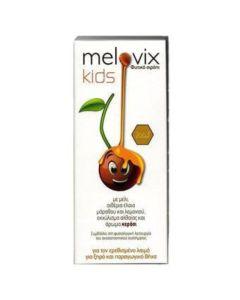 Melovix Kids Φυτικό Παιδικό Σιρόπι Για Τον Ερεθισμένο Λαιμό & Τον Ξηρό/Παραγωγικό Βήχα 200ml