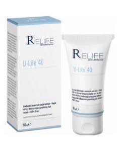 Menarini ReLife U-Life 40 Ενυδατική Κρέμα Ποδιών Με Ουρία 40% 50ml