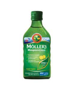 Moller's Μουρουνέλαιο Cod Liver Oil Με Γεύση Λεμόνι 250ml
