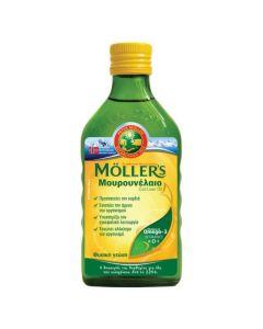 Moller's Μουρουνέλαιο Natural Παραδοσιακό Σε Υγρή Μορφή Με Την Κλασική Γεύση 250ml