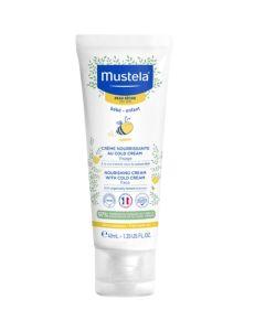 Mustela Βρεφική Κρέμα Ενυδάτωσης Προσώπου Για Ξηρό Δέρμα Με Κερί Μέλισσας 40ml